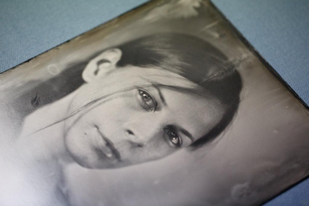 Yvonne - Tintype - Nassplatte
