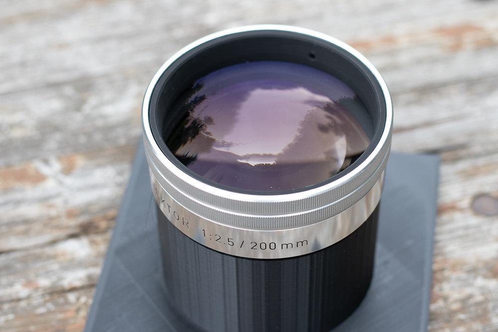 Leitz Hektor 200mm 2.5 370 Euro